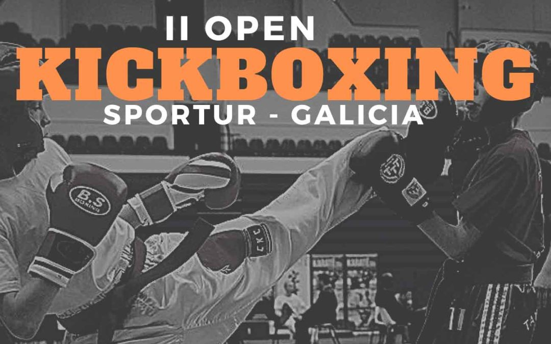 II Open Kickboxing Sportur Galicia