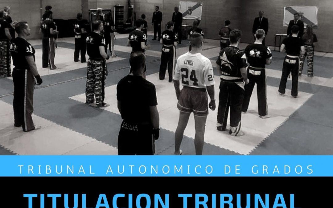 TITULACIÓN TRIBUNAL AUTONOMICO DE GRADOS